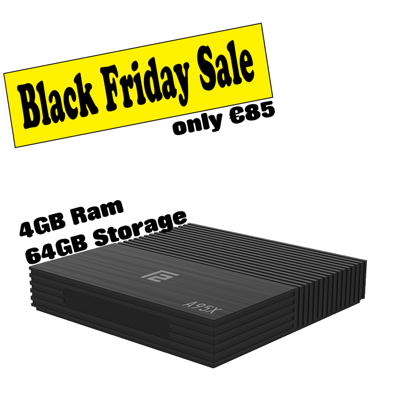 A96X F2 - 64GB Black friday