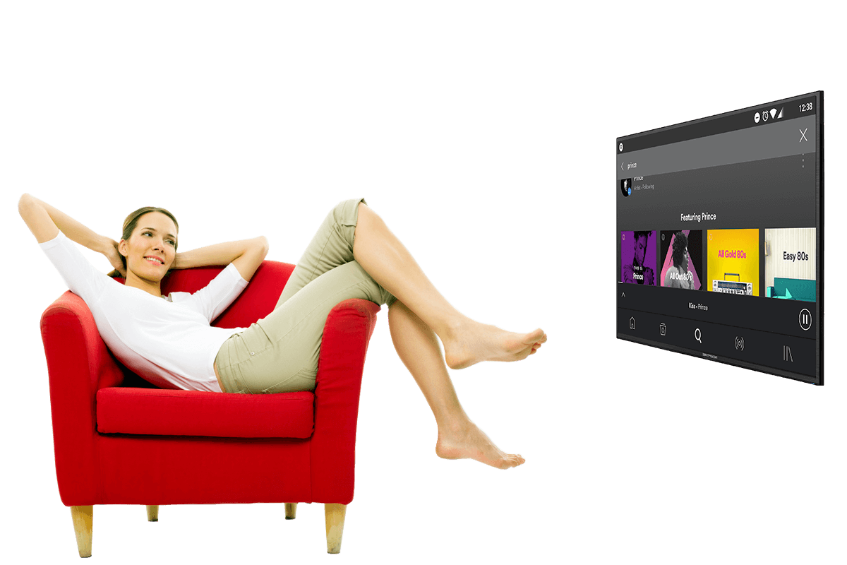 Smart Android TV Box - Music
