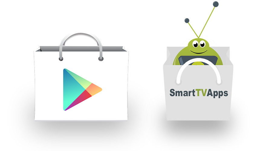 The SmartTVBox App Store works in tandem with the Google Play Store